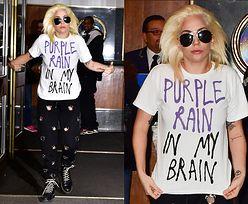 Lady Gaga w dresowych spodniach i butach za 2,5 tysiąca