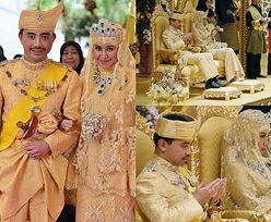 Tak wyglądał ślub przyszłego sułtana Brunei! (ZDJĘCIA)