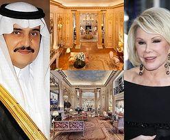"""Arabski szejk kupił apartament Joan Rivers! Teraz """"rozrywa go na strzępy""""..."""