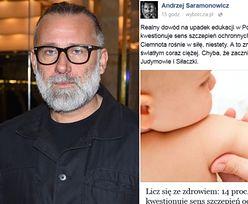 """Saramonowicz o przeciwnikach szczepienia dzieci: """"Dowód na upadek edukacji w Polsce"""""""
