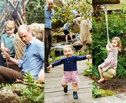 """""""Perfekcyjni"""" Kate i William odciągają uwagę od Sussexów rodzinnymi zdjęciami z dziećmi"""