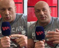 """Hardkorowy Koksu w Pudelek Show: """"Dzisiaj miałem stek i 20 jajek na śniadanie. Będzie moc!"""""""