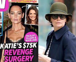 Tabloidy alarmują: Katie Holmes zafundowała sobie PRZEMEBLOWANIE TWARZY za 300 TYSIĘCY ZŁOTYCH!