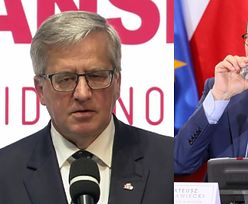 """Bronisław Komorowski ostro o rządzie PiS na obchodach 4 czerwca: """"Nie mogę tego pojąć"""""""
