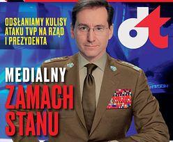"""Piotr Kraśko w mundurze na okładce """"wSieci"""" (FOTO)"""