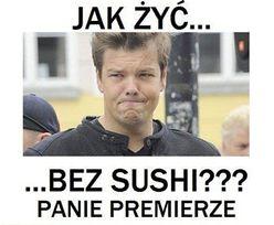 """""""Jak żyć bez sushi""""?"""