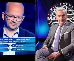 """Kolejna wpadka w """"Milionerach"""": """"Zbigniew Wodecki zaprasza do Zgonu?"""""""