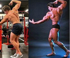 Syn Arnolda Schwarzeneggera odtwarza słynne zdjęcie ojca z 1975 roku. Podobni? (FOTO)
