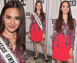 Nowa Miss Universe nieśmiało lansuje się w Nowym Jorku