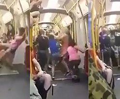 """""""HIT SIECI"""": Nastolatki biją się w warszawskim tramwaju!"""