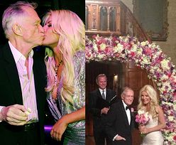 Hefner wziął w Sylwestra ślub z 26-latką!