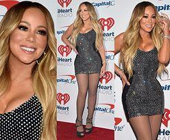Odchudzona Mariah Carey powraca w mini z kryształkami