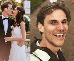 """""""M jak miłość"""". Marcel Sabat wziął ślub ze swoją partnerką! Aktor pochwalił się też zdjęciami z wesela (FOTO)"""