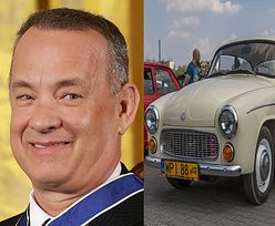 """Tom Hanks szuka ZABYTKOWEJ POLSKIEJ SYRENKI, żeby wesprzeć szpital! """"Nie wypada nie pomagać"""""""