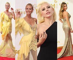Kreacje z rozdania Emmy: Sophia Vergara, Heidi Klum czy Lady Gaga?