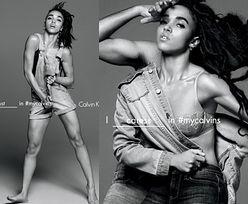 Dziewczyna Roberta Pattinsona reklamuje dżinsy Calvina Kleina