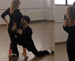 Ewa Kasprzyk ćwiczy tango!