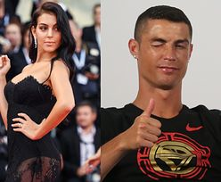 Wenecja 2018: Dziewczyna Ronaldo paraduje po czerwonym dywanie z pupą na wierzchu (ZDJĘCIA)