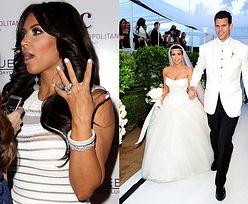 Były maż Kardashian sprzedał pierścionek zaręczynowy Kim! Za 620 000!