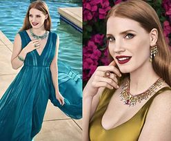Jessica Chastain reklamuje biżuterię