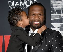 50 Cent zabrał syna na ściankę. Idealny tata?