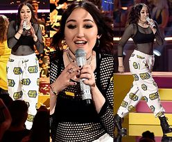 STRASZNY WYSTĘP siostry Miley Cyrus na imprezie MTV (FOTO+WIDEO)