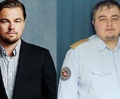Sobowtór Leonardo DiCaprio w... rosyjskiej policji!
