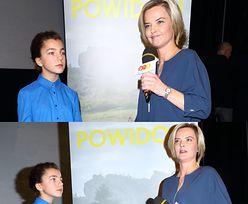 Monika chciała przeprowadzić wywiad z córką Justy i Zamachowskiego... (ZDJĘCIA)