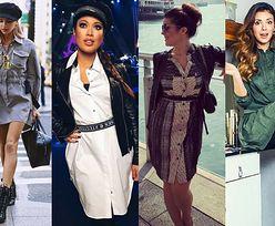Modne szmizjerki - z czym noszą je celebrytki?