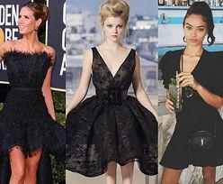 Najciekawsze czarne rozkloszowane sukienki