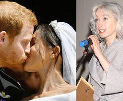 """Gretkowska o """"royal wedding"""": """"Dobra muza okraszona RELIGIJNYM KABARETEM. Spektakl dla widzów"""""""
