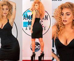 Lady Gaga wygina się na prywatnej ściance