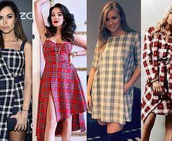 Sukienka w kratkę nie tylko do pracy - 5 inspiracji