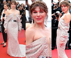 Cannes 2019: Powabna Milla Jovovich ryzykuje odsłonięciem sutków na czerwonym dywanie