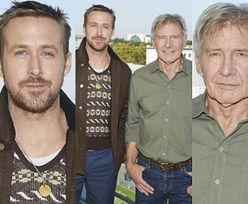 """Harrison Ford i Ryan Gosling promują nowego """"Łowcę Androidów"""" w Berlinie (ZDJĘCIA)"""