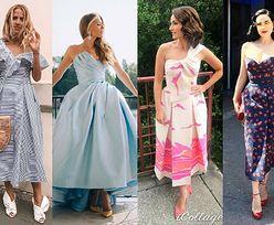 Sukienki w stylu lat 50. - jakie wybierają gwiazdy?