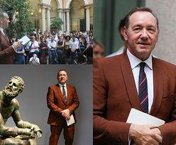"""Kevin Spacey spotkał się z fanami w Rzymie. """"Im bardziej cię krzywdzą, tym wspanialszy jesteś!"""" (ZDJĘCIA)"""