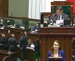 """Awantura w Sejmie w trakcie wyboru sędziów: """"Konstytucja! Precz z komuną!"""""""