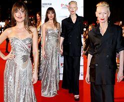 """Dakota Johnson i Tilda Swinton promują """"Suspirię"""" w Londynie"""