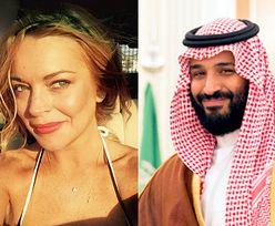 """Lindsay Lohan spotyka się z SAUDYJSKIM KSIĘCIEM? """"Zasypuje ją prezentami"""""""