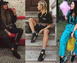 Jakie czarne buty sportowe noszą celebrytki?
