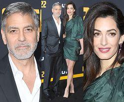 George i Amal Clooneyowie pozują w duecie na premierze serialu