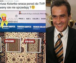 """Hanna Lis wyśmiewa powrót Kolonki do TVP: """"Dywany się nie sprzedają?"""""""