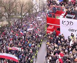 """Tysiące ludzi protestują przed Trybunałem Konstytucyjnym: """"Obronimy demokrację!"""""""