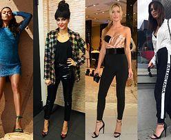 Imprezowe ubrania w stylu glamour - jakie wybierają gwiazdy?
