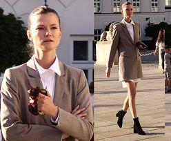 Wystylizowana Kasia Struss spaceruje po Warszawie (WIDEO)
