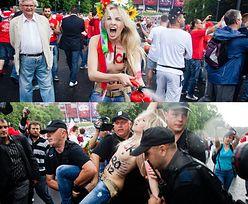 Ukraińskie feministki pod Stadionem Narodowym! (ZDJĘCIA)