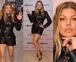 43-letnia Fergie promuje odsłoniętymi nogami buty własnego projektu