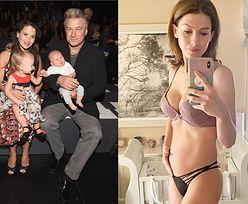 """Żona Aleka Baldwina ogłasza na Instagramie: """"Prawdopodobnie właśnie poroniłam"""""""