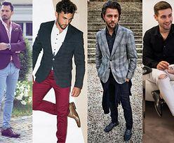 Skórzane półbuty w eleganckich stylizacjach celebrytów
